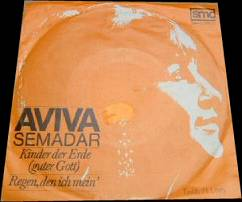 "Aviva Semadar - Kinder der Erde - 7"" Single"